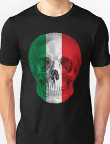 Albinus Skull 08 - Cappuccino Fairy Tale - Black Background T-Shirt