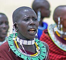 Maasai Dancers by TonyKRO