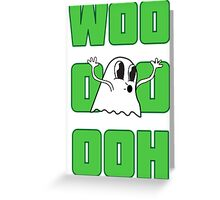 Ghostly! Greeting Card