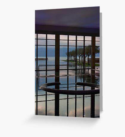 Best 3 Dead Sea Pools Greeting Card