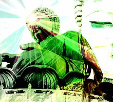 Green Buddha by HyperLyght