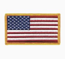 American ARMY, Flag, SMALL, Embroidered, Stars and Stripes, USA, United States, America, Military Badge Kids Clothes