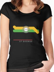 St. George station Women's Fitted Scoop T-Shirt