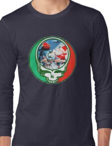 Have a holly jolly grateful Christmas.  Long Sleeve T-Shirt