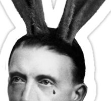 Hitler Bunny Sticker