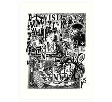 Vanishing Point. Art Print