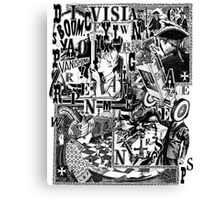 Vanishing Point. Canvas Print