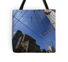 Vancouver Power Lines Tote Bag
