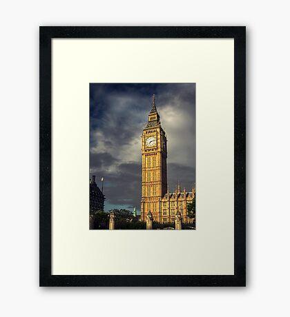 Big Ben 4 Framed Print