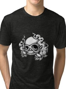 Skull Tattoo Flash Tri-blend T-Shirt