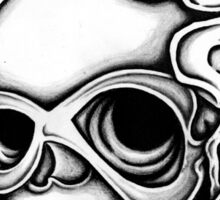 Skull Tattoo Flash Sticker