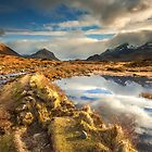 Isle of Skye: Golden Glen Sligachan by Angie Latham