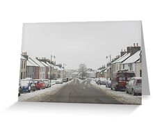 Snowy Whithorn..... Greeting Card