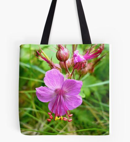 Sticky Geranium (available in ipod, iphone, & ipad cases) Tote Bag