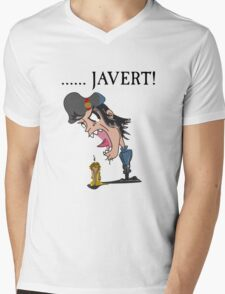 .....JAVERT! Mens V-Neck T-Shirt