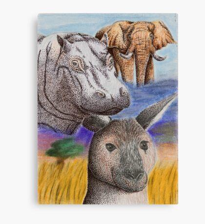 Wild Africa Canvas Print