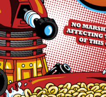 Exterminate O's Sticker