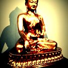 Sakyamuni at point of enlightenment by Chris Millar