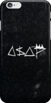 A$AP Mob Vintage Style Phone Case by Emoni Bennett