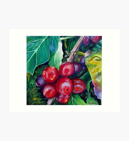 Cafe Costa Rica Art Print
