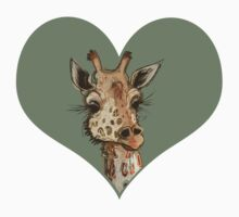 Lovely Lashes Giraffe Kids Clothes