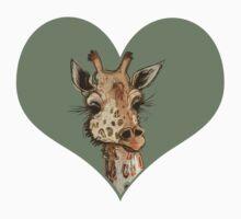 Lovely Lashes Giraffe One Piece - Long Sleeve