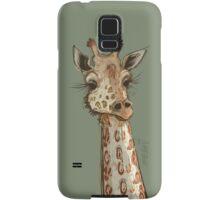 Lovely Lashes Giraffe Samsung Galaxy Case/Skin