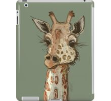 Lovely Lashes Giraffe iPad Case/Skin