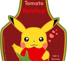 pikachu's ketchup by Alex Magnus