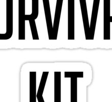"Welcome To Night Vale ""Library Survival Kit"" Sticker"