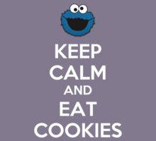 Keep Calm And Eat Cookies Kids Tee