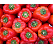 At market Photographic Print