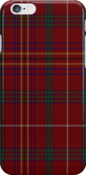 00859 West Coast Woven Mill Fashion Tartan #9275 1422-3 Fabric Prinnt Iphone Case by Detnecs2013
