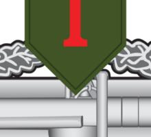 1st Infantry CAB Sticker