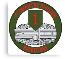 1st Infantry CAB Canvas Print