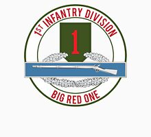 1st Infantry CIB Big Red One Unisex T-Shirt