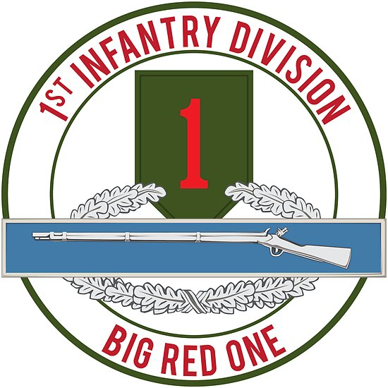 1st Infantry CIB Big Red One by jcmeyer