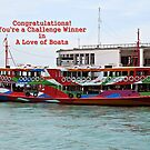 Challenge Banner-Love of Boats  by Ethna Gillespie