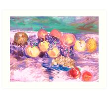 Celebration of Fruit Art Print
