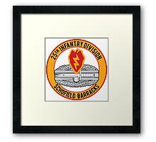 25th Infantry CAB Framed Print