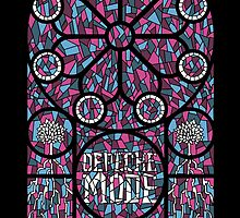 Depeche Mode : Live On Letterman Poster by Luc Lambert