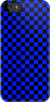 Checkerboard - Blue by chrishull
