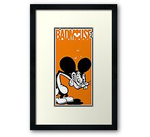 Case Badmouse Framed Print