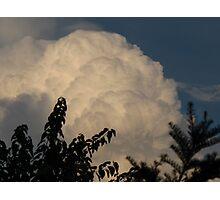Accumulating cumulus Photographic Print