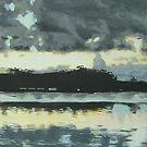 Burrill Lake, South Coast, NSW by enumerart