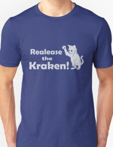 Release The Kraken Kitten funny nerd geek geeky T-Shirt