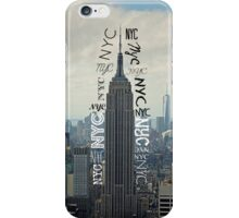 New-York City iPhone Case/Skin