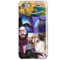 Hipster to the Max iPhone Case/Skin