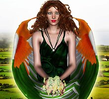 Eireann, Angel of Ireland by Kristie Theobald