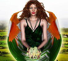 Eireann, Angel of Ireland by Kristie Theobald